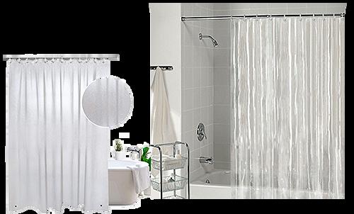 Виниловые шторки для ванн